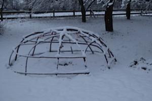 Schwitzhütte zur Wintersonnenwende