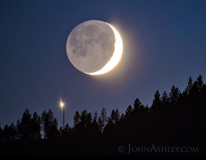 Venus Mond Konjunktion